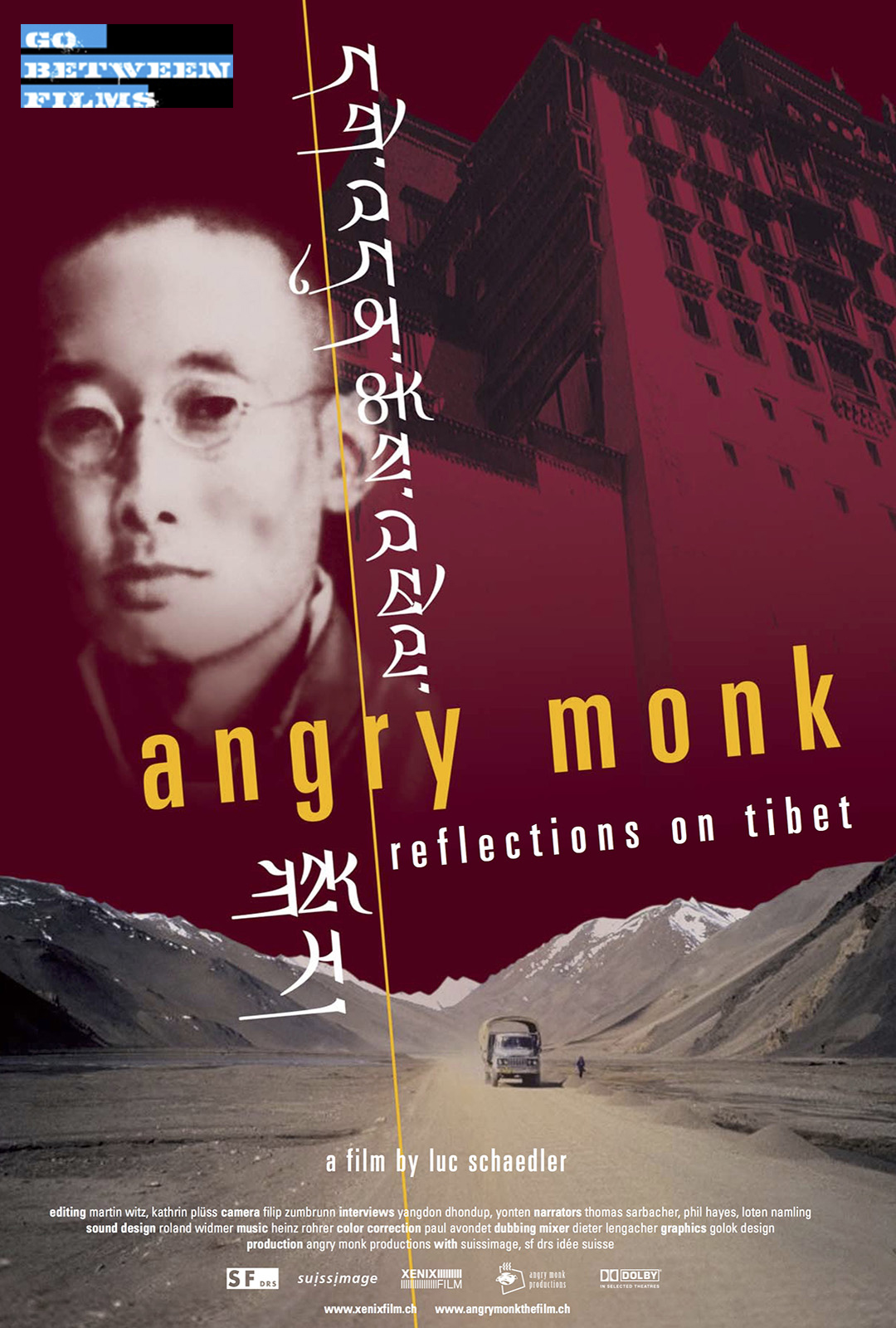 Poster of Angry Monk (2005) link to Vimeo On Demand